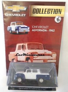 Chevrolet Alvorada - 1962 - Chevrolet Collection #06 - Escala 1/43 - Salvat