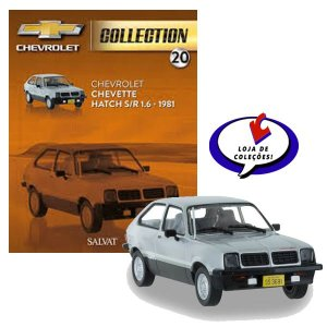 Chevrolet Chevette Hatch S/R 1.6 - 1981 - Chevrolet Collection #20 -Escala 1/43 - Salvat