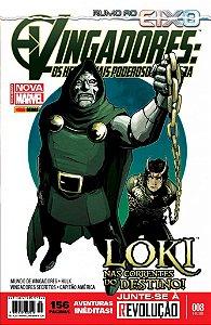Vingadores: Os Heróis Mais Poderosos da Terra n° 8 - Panini