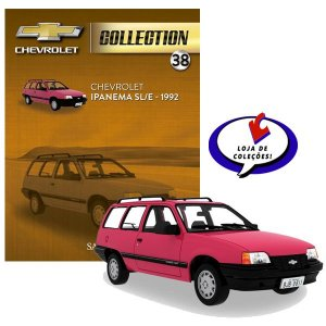 Chevrolet Ipanema SL/E - 1992 - Chevrolet Collection #38 - Escala 1/43 - Salvat