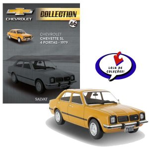 Chevet SL 4 Portas - 1979 - Chevrolet Collection #46 - Escala 1/43 -Salvat