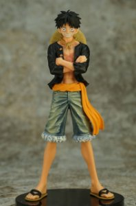 Banpresto DXF One Piece Jeans Freak Luffy 2
