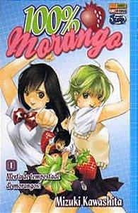 100% Morango - #1 - Mangá - Panini Comics