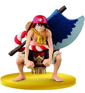 Banpresto Scultures Big One Piece Luffy Champion !!  Film Gold