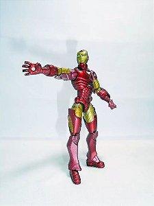 Marvel Universe Iron Man (homem de ferro) Loose - Hasbro - Loose