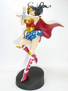 Armored Wonder Woman (Mulher-Maravilha ) - Escala 1/8 - Garage Kit Montado