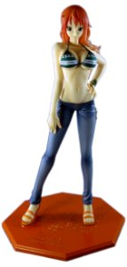 Megahouse One Piece P.O.P Sailing Again Nami Excellent Model Portrait of Pirates