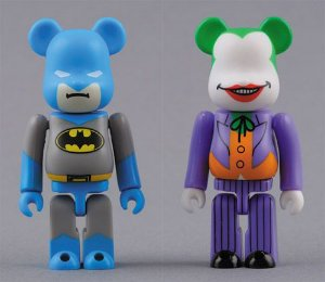 Medicom Toy Bearbrick Batman e Joker