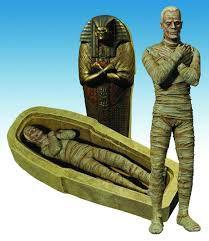 The Mummy (A múmia) - Monstros da Universal - Diamond Select Toys