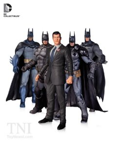 Mattel DC Batman Arkham Saga Pack com 05