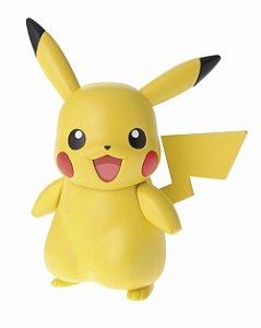 Bandai Pokemon Plamo Pikachu Articulado Kit de montar