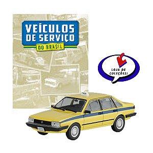 VW Santana Taxi -Veículos de Serviço do Brasil - Escala 1/43 - Planeta DeAgostini