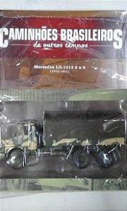 Mercedes Lg-1213 6 X 6  - Coleção Caminhões Brasileiros - #56 - Planeta DeAgostini