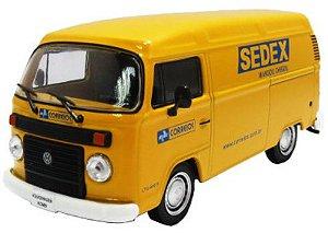 Volkswagem Kombi Furgão Correios Sedex - Veículos de Serviço do Brasil - Escala 1/43 - Planeta DeAgostini