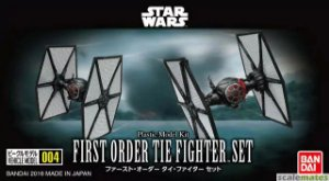 Bandai Star Wars First Order Tie Figther Set Model Kit