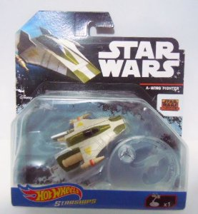 A Wing Fighter - Star Wars - Hot Wheels Starships