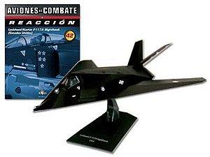 Lockheed Martin F-117A Nighthawk - Coleção Aviões de Combate a Jato - Escala 1/72 - Planeta DeAgostini