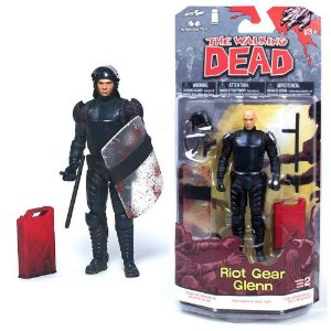 McFarlane The Walking Dead HQ Toys Glenn Riot Gear Figure