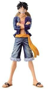 Banpresto DXF One Piece Jeans Freak Luffy 1