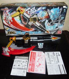 Bandai DX Axe Calibur Kamen Rider Wizard