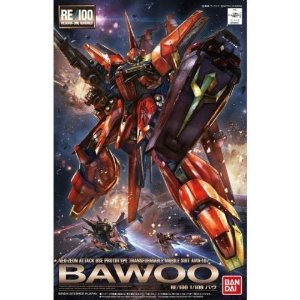 Bawoo AMX-107 - Gundam Neo-Zeon - RE 1/100 - Model Kit - Bandai