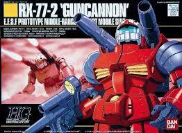 RX-77-2 Guncannon Gundam - 1/144 HG - Model Kit - Bandai