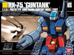 RX-75 Guntank - 1/144 HG - Model Kit - Bandai