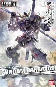 Gundam Barbatos - 1/100  MG- Model Kit - Bandai