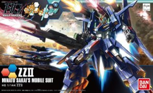 Gundam Build Fighters - ZZII ZZ 2 Gundam Double Zeta 2 HGBF  1/144 HG Bandai