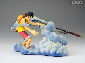 One Piece  Log Box  Megahouse Luffy Vs Smoker Diorama