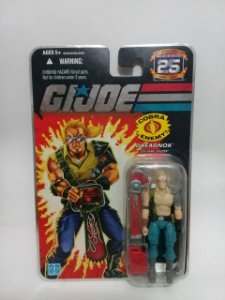 Hasbro G.i.joe 25th Dreadnok Buzzer GiJoe 25th
