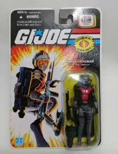 Hasbro G.i.Joe 25th Cobra Frogman Cobra Eel Gijoe 25th