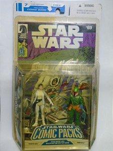 Princesa Leia e Tobbi Dalla - Star Wars Comic Packs - Dark Horse Comics