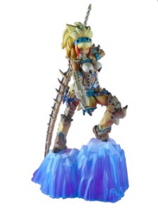 Banpresto Capcom Ichiban Kuji Monster Hunter 3G Barioth Soubi Loose