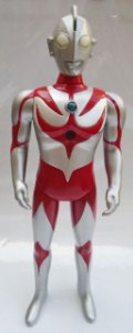 Figure Ultraman Neos - Com som e Luz  - 28,5 cm - Bandai