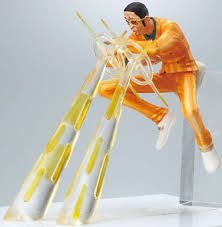 Bandai  Attack Motions One Piece Almirante Kizaru Gashapon