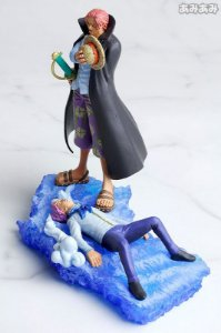 Megahouse One PIece Log Box Diorama Shanks e Cobby