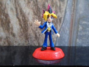Yu-Gi-Oh ! Coleção Coca-Cola Gashapon  Jump Festa Yugi #18
