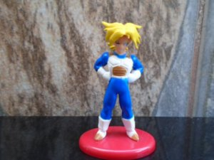 Dragon Ball Z Coleção Coca-Cola Gashapon Trunks SSJ #07