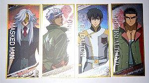 Lote Marcador de Livro Gundam Barbatos Book Marker