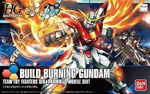 Gundam Build Fighters Try - Build Burning Gundam HGBF #18 1/144 Bandai