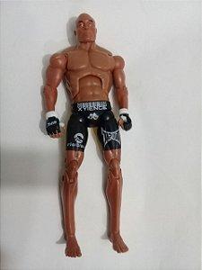 Boneco UFC Anderson Spider Silva Action Figure Escala Marvel Legends