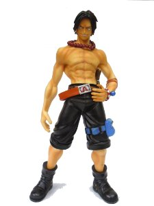 One Piece  P.O.P Portgas D. Ace Vers. 1.5 Portrait of Pirates  Megahouse Loose