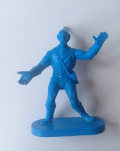 Gulliver Duende Verde Azul - Homem-Aranha Marvel Antigo Vintage