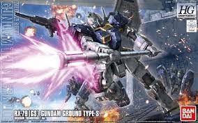 Bandai Gundam Thunderbolt  RX-79[GS] Gundam Ground Type-S HG 1/144