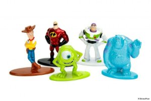 Disney Toy Story Os incríveis Nano Metalfigs 100% Die-Cast Metal Pack om 05