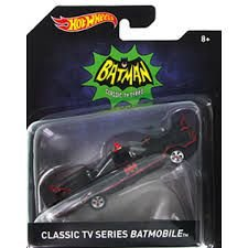 Hot Wheels Batman Batmobile (Batmóvel) Classic 1966 1/50