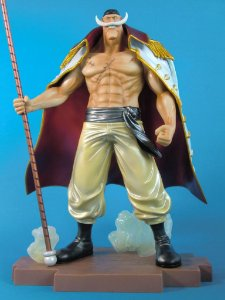 One Piece Ichiban Kuji Shirohige Edward New Gate Prize B Metalic Color Banpresto
