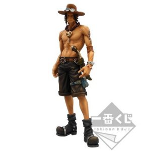Banpresto Super Master Stars Piece One Piece Ace The Brush