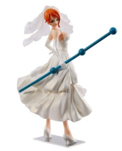 One Piece Scultores Big 4 Nami Noiva Banpresto